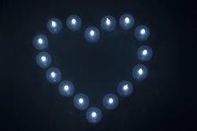 Batteria operare luminara candela ingrosso, candela elettrica, chiesa candela