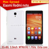China cell phone xiaomi hongmi Red / Red note original china wholesale