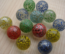 colorful decorative glass marble/crystal ball/glass bead