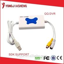 The best price USB2.0 Video Capture card cable mini vcap 2 usb dvr