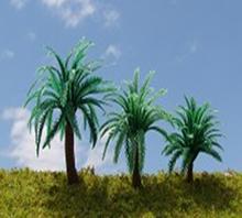 Le modèle mini artificiels, sago cycas arbres pour maquette d'architecture disposition/la mise en train/l'aménagement du paysage