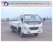 La carga útil 1-3t forland camiones de la fábrica directamente la venta en china