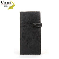 Quality guarantee 100% cowhide wallet pu design hand purse mirror