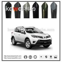 Kewei Car reflective window tinting film, Korea PET material,heat insulation