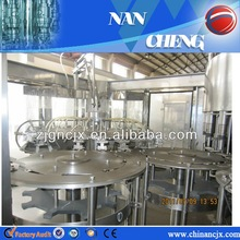 3-in-1 automatic sparkling flavored water bottling machines
