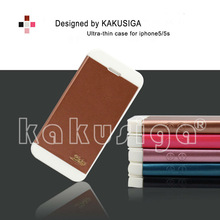 Guangzhou manufacture professional flip leather mobile phone cover case for iphone 5s