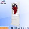 42 inch hd led light webcam kiosk touch screen barcode scanner