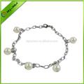 hermosa personalizada pulsera de la perla