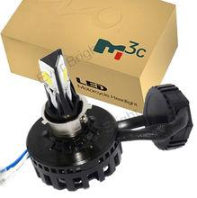 2Years warranty 360 Luminous 6-36V 18W Motorcycle Headlamp 3LED High Power COB 1650LM Brightness Motorcycle Headlight Bulb