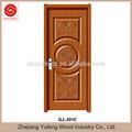 mdf banheiro de madeira de plástico pvc perfil da porta interior