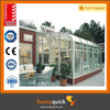 2014 Latest design modern glazed aluminum sun house for villa