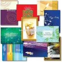 Custom Cute Paper handmade birthday greeting cards Birthday Card Assortment
