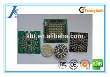 Aluminum LED PCB Assembly for car head light, head light LED PCBA, car head light aluminum PCB