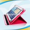 2014 Newest Luxury mobile phone leather south korea fur imitation pu leather flip case for ipad mini