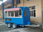 New Condition and snacks,Hot Dog Cart,Food, Drink,etc Application trailer hot dog cart for sale