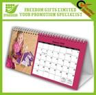 Wholesale Logo Customized Desk Calendar Printing