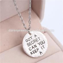 pretty little liars got a secret can you keep it necklace