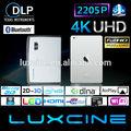 Mejor venta de Mini WiFi proyector / Blu ray inteligente - 3D HD LED proyector DLP / Miracast proyector