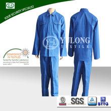 wholesale OEM service professional low formaldehyde protective EN11612 fire retardant coat pant men suit