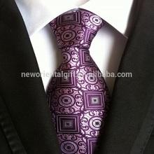 New fashion skinny ties, black border with silver ties, purple diagonal stripes necktie