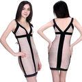 fast sexy senhoras v profundo curto vestidos bandage de noivado