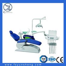 Foshan cuero real los más vendidos silla dental, Silla dental de piezas de repuesto