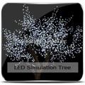 2014 artificial flor de cerezo árbol árbol de navidad artificial flores falsas