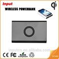 Phon mobile e per e. U. Tipo di socket qi caricabatterie senza fili banca alimentazione wireless
