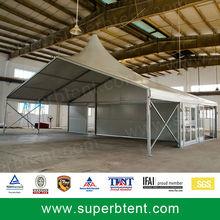 Economical Glass Walls Multi-Side High Peak Tent Combination