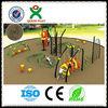 Unique design kids play gym equipment kids exercise equipment outdoor play equipment multi play climbing rope net QX-044A