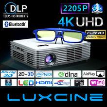 3D Hologram Projector / Blu-ray 3D Ultra HD Projector / 1080P to 2205P Ultra HD Projector