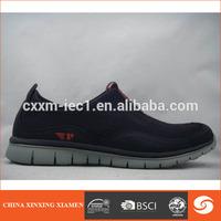 Low price men running shoes in mesh upper