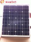 25w solar panel mono