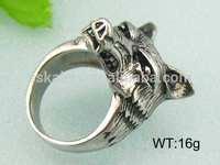 316l bulk cheap wholesale men spikes stainless steel ring