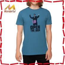 2014 High quality men custom 100%cotton t-shirt manufacturer and t-shirt iron man