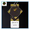 Luxury manila tag for clothing with custom logo