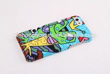 New Graffiti matte plastic case for iPhone 5, custom design cell phone case