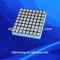 8x8 matrix módulo de led rgb ponto quadrado levou para o elevador indicador