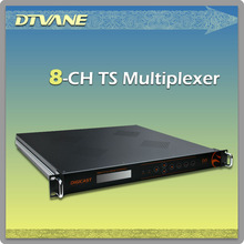 (DMB9110 ) 8*ASI out mpeg DVB Multiplexer with EPG Data broadcasting NVOD application