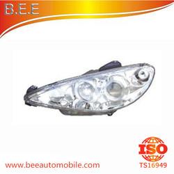 FOR PEUGEOT 206 1998 Angel Eye Head lamp R 6205-S7 L 6204-S7 R 6208.63 L 6206.63