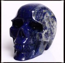 Beautiful Natural Quartz Crystal Carving Skull