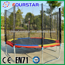 2014 new sports fitness equipment China 10ft big trampoline bed for sale