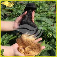 top quality 100% human two tone ombre hair braiding hair