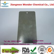 Sólido electrostática de pintura de plata