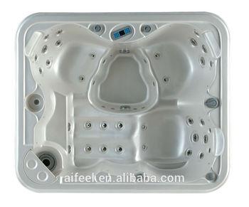 2014 free sex massage bath tub for 3 persons