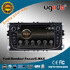 ugode two din touch screen Ford Mondeo GPS navigation with DVD GPS radio bluetooth IPOD USB SD car multimedia player