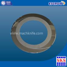 Circular Thin Blade Tungsten Carbide Round Knife factory supply