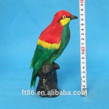 wholesale garden fur mini plastic artificial feather talking exotic birds for sale