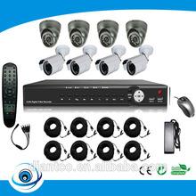 Cheap SONY 700TVL 8CH Security Camera System /DVR KIT/CCTV KIT