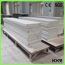 KKR ghiacciaio bianco superficie solida pannelliin pietra faux prezzi